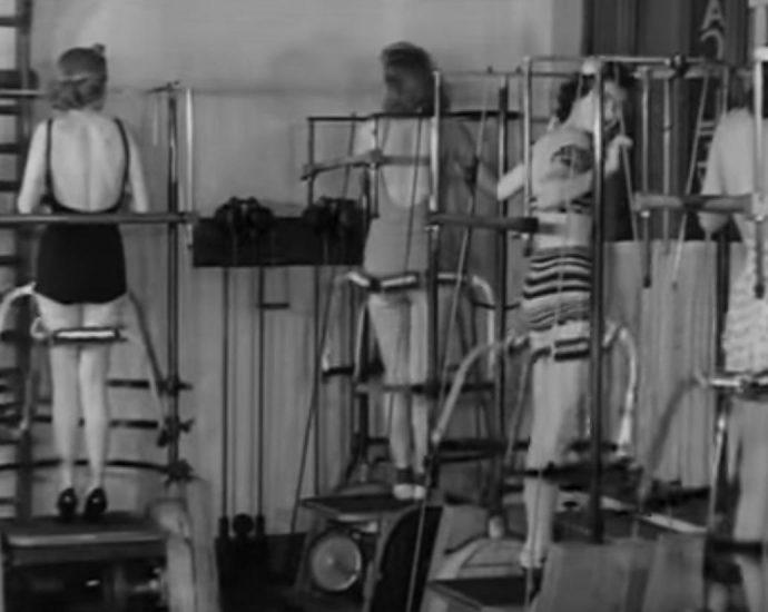strange exercise machines